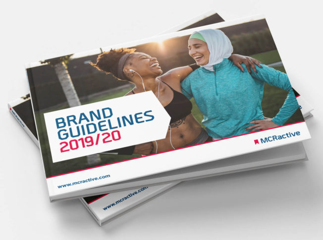 MCR Active Brand Guidelines Pixel8 Manchester